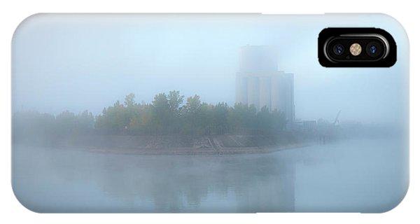 Mist Along The Rhine France IPhone Case