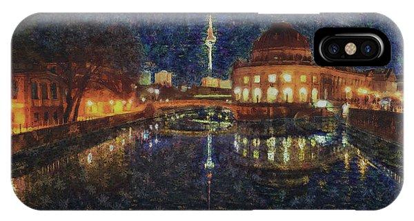 Mist Of Impressionism. Berlin. IPhone Case