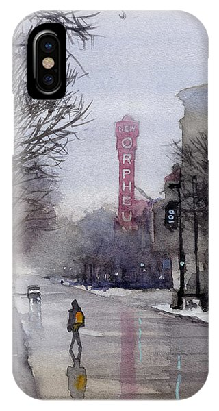 Misty Morning On Stae Street IPhone Case