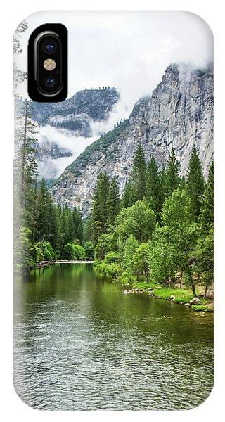 Misty Mountains, Yosemite IPhone Case