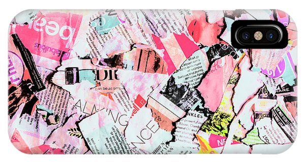 Cutting iPhone Case - Mixed Media Messages by Jorgo Photography - Wall Art Gallery