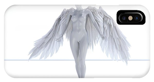 Human Interest iPhone Case - Angelic  by Betsy Knapp