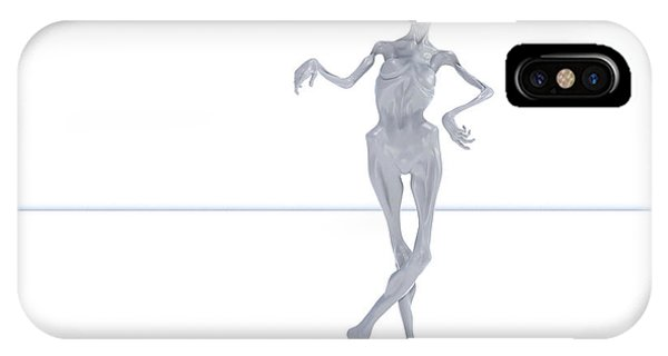 Human Interest iPhone Case - The Beautiful Lisa Pose 001 by Betsy Knapp