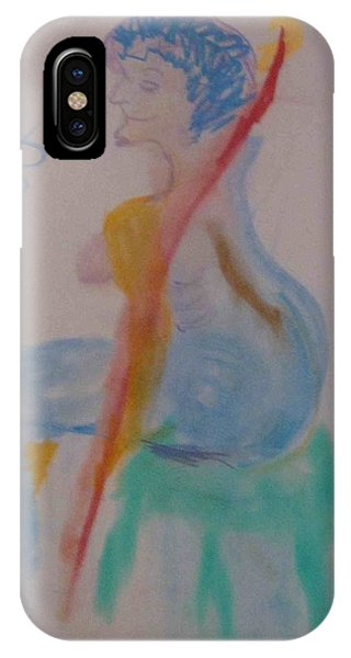 model named Helene two IPhone Case
