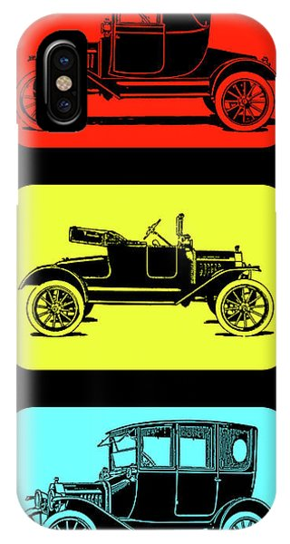 Model T Ford Triple IPhone Case