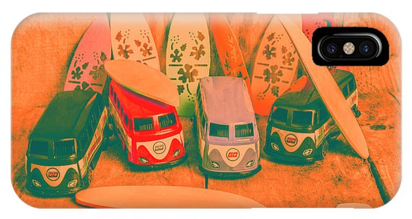 Volkswagen iPhone Case - Modelling A Surfing Vacation by Jorgo Photography - Wall Art Gallery
