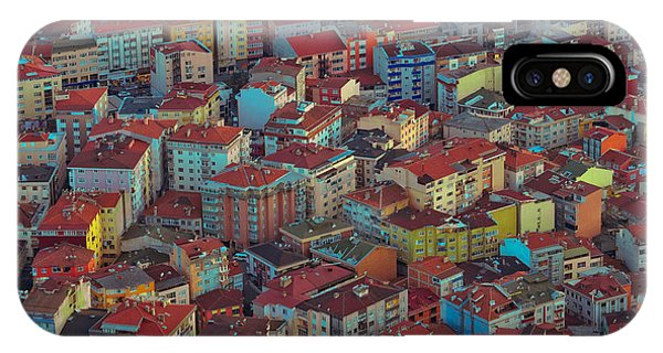 Rooftops iPhone Case - Modern Buildings Of The City - Urban by Repina Valeriya