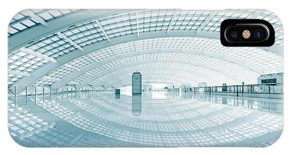 Modern Hall Of Subway Station  At T3 Phone Case by Ssguy