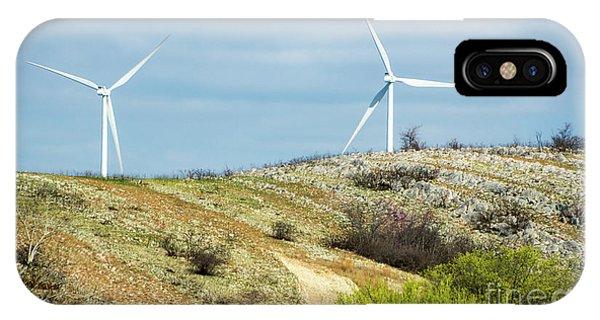 Modern Windmill IPhone Case