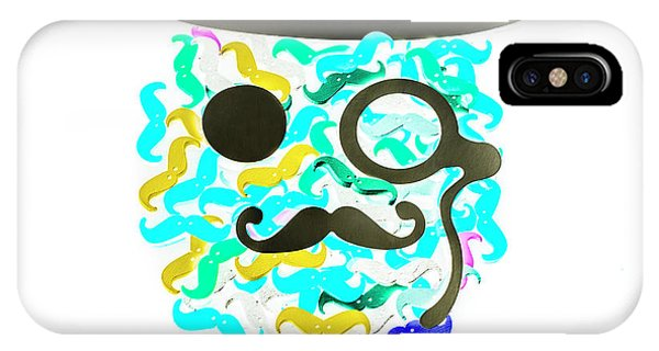 Moustache iPhone Case - Moeicature by Jorgo Photography - Wall Art Gallery