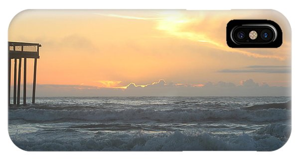 IPhone Case featuring the photograph Moment Before Sunrise by Robert Banach