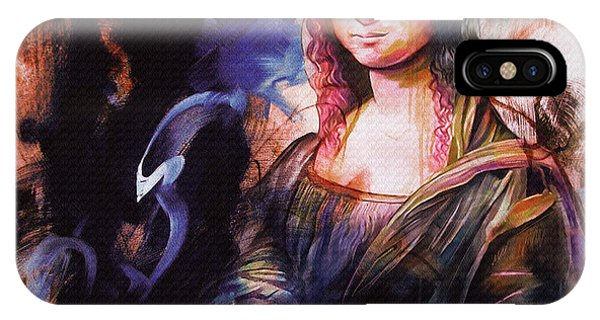 Lupita iPhone Case - Mona Lisa Art  by Gull G