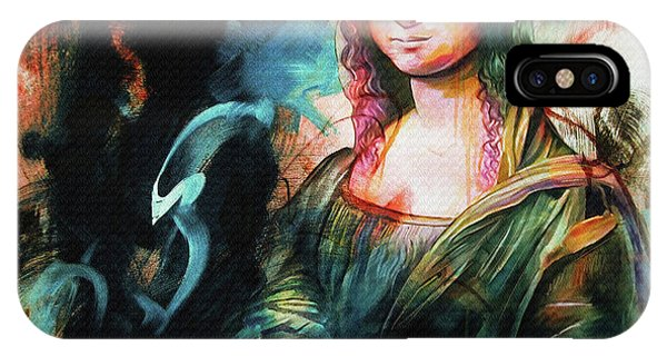 Lupita iPhone Case - Mona Lisa  by Gull G