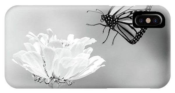 IPhone Case featuring the photograph Monarch In Infrared 6 by Brian Hale