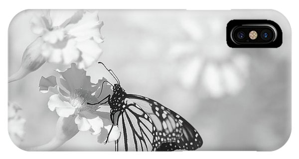 IPhone Case featuring the photograph Monarch In Infrared by Brian Hale