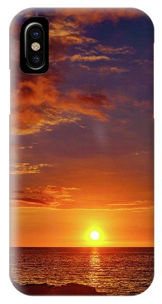 Monday Sunset IPhone Case