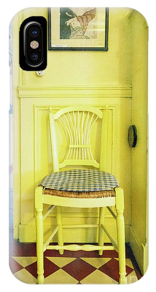 Monet's Kitchen Yellow Chair IPhone Case