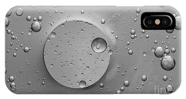 Monochrome Abstract IPhone Case