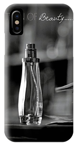 Monochrome Definition Of Beauty IPhone Case