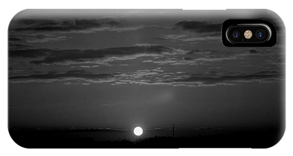 Monochrome Sunrise IPhone Case