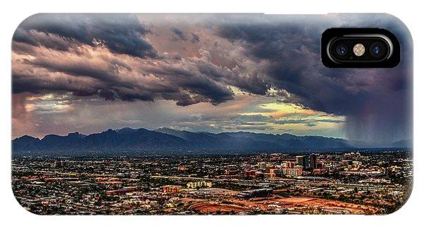 Monsoon Hits Tucson IPhone Case