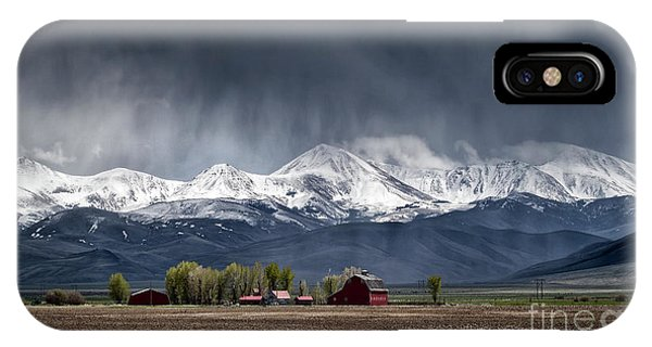 IPhone Case featuring the photograph Montana Homestead by Brad Allen Fine Art