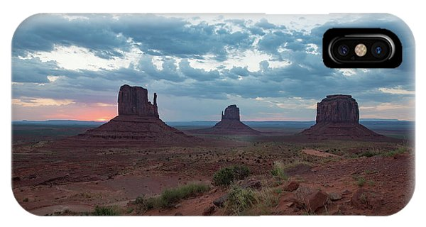 Monument Valley Before Sunrise IPhone Case
