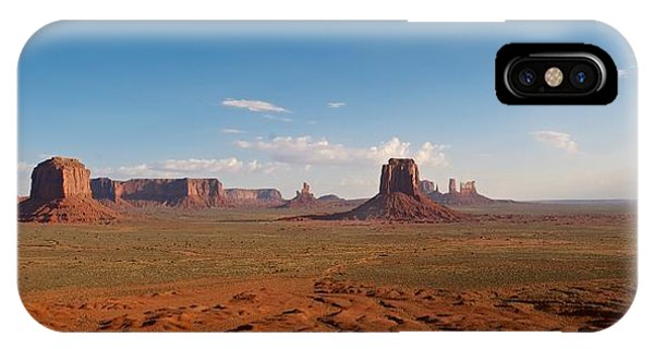 IPhone Case featuring the photograph Monument Valley by Mark Duehmig