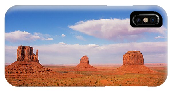 United States iPhone Case - Monument Valley, United States by Stanislavbeloglazov