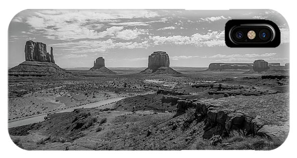 Monument Valley View IPhone Case