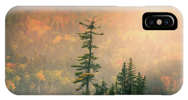 IPhone Case featuring the photograph Moody Autumn Morning On Moosehead Lake by Dan Sproul