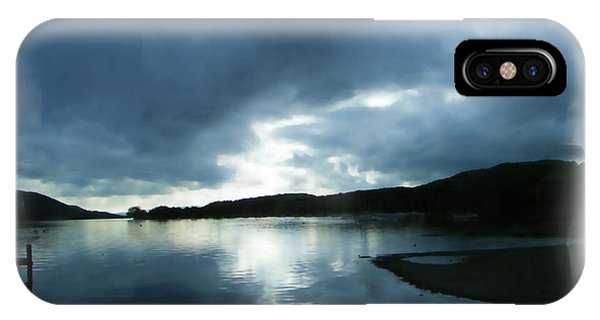 Moody Sky Painting IPhone Case
