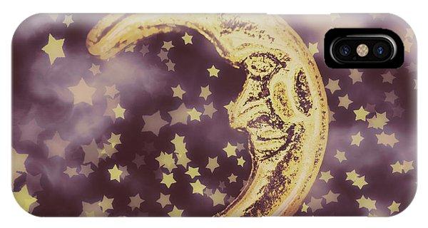 Half Moon iPhone Case - Moon Dreams by Jorgo Photography - Wall Art Gallery