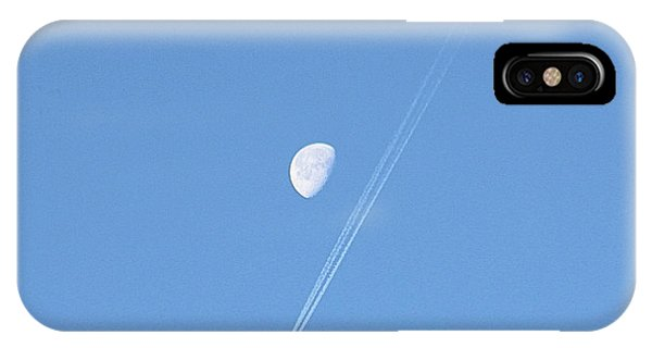 IPhone Case featuring the photograph Moon Flyby by Robert Banach