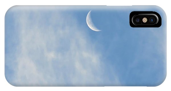 Moon In Libra - Crescent Farewell IPhone Case