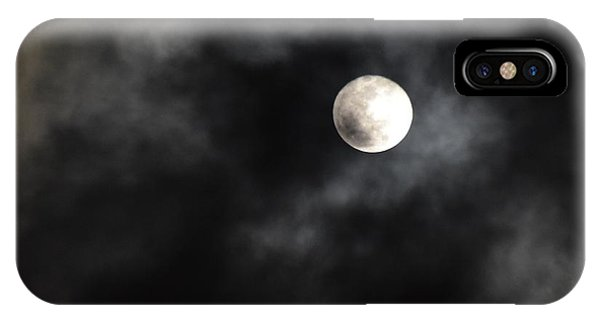 Moon In The Still Of The Night IPhone Case