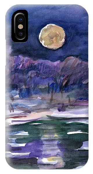 Moon Landscape IPhone Case
