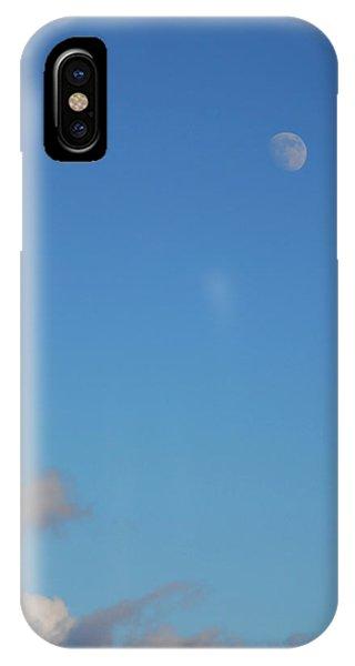 Moon Over Cloud IPhone Case