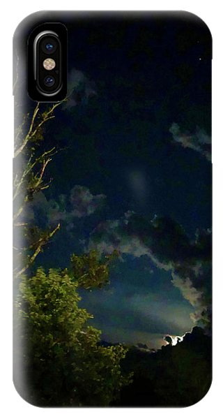 Moonlight In The Trees IPhone Case
