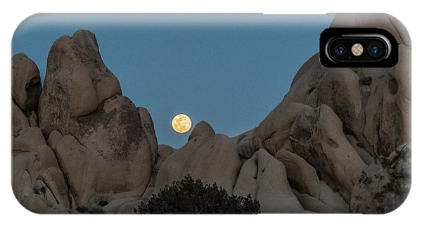 Moonrise In The Sight IPhone Case