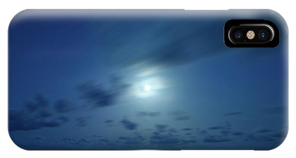 Moonrise Over The Sea IPhone Case