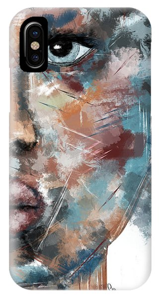Moonshine-woman Abstract Art IPhone Case