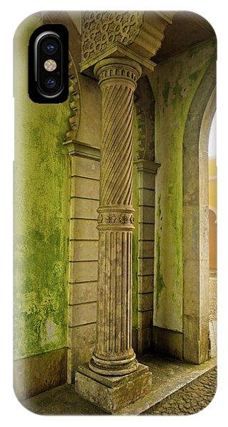 iPhone Case - Moorish Wall In Sintra  by Kathy Yates