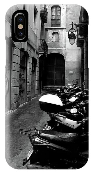 IPhone Case featuring the photograph Moped by Edward Lee