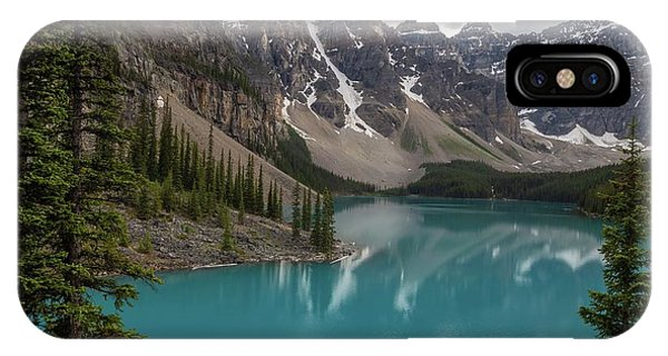 IPhone Case featuring the photograph Moraine Lake by Paul Schultz