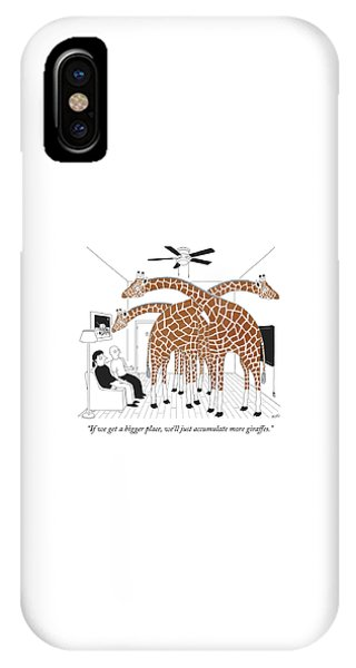 More Giraffes IPhone Case