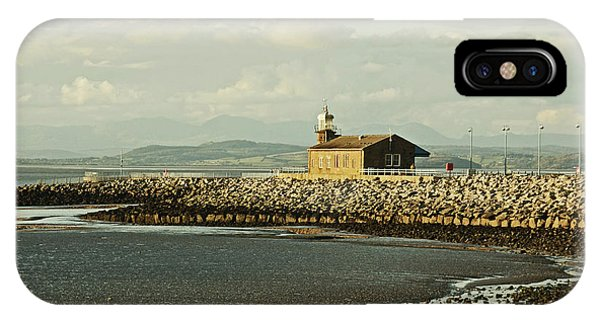 Morecambe. The Stone Jetty. IPhone Case