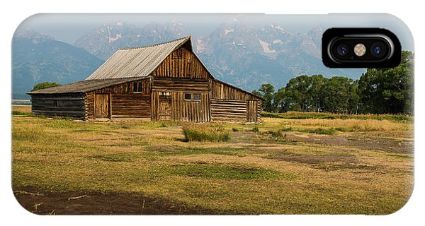Mormon Barn IPhone Case