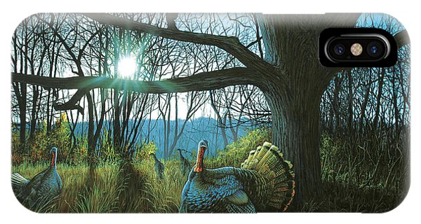 Morning Chat - Turkey IPhone Case