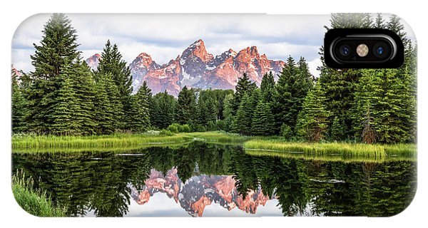 Morning In The Tetons IPhone Case